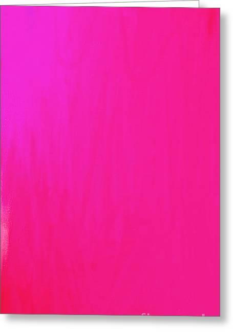 Emerging Artist Greeting Cards - Pink Greeting Card by Anita Lewis