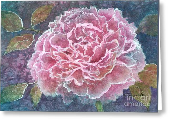 Medium Pink Greeting Cards - Pink Beauty Greeting Card by Barbara Jewell