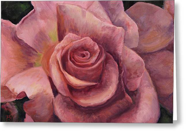 Fundraiser Greeting Cards - Pink Bloom Greeting Card by Billie Colson