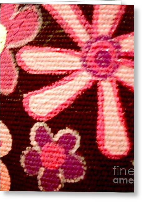 Flower Photos Tapestries - Textiles Greeting Cards - Pink bloom flower ornament Greeting Card by Yok Bloommifild