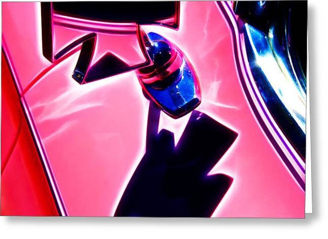 Pink Custom Mirrors Greeting Card by Phil 'motography' Clark