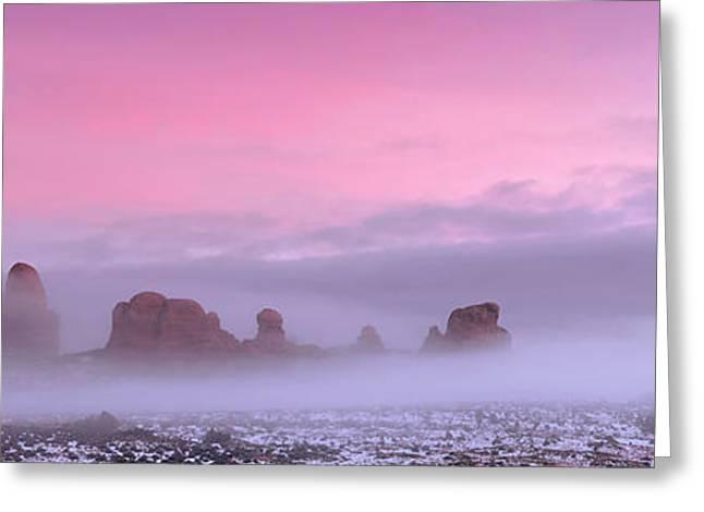 Pink Greeting Card by Dustin  LeFevre