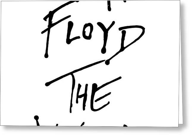 Pink Floyd No.01 Greeting Card by Caio Caldas