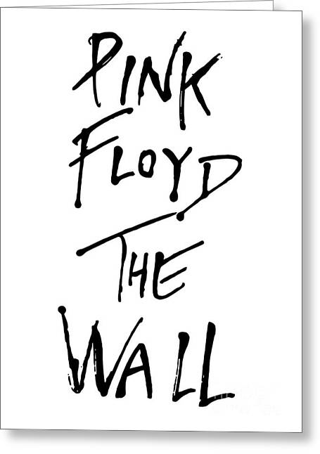 Rock N Roll Greeting Cards - Pink Floyd No.01 Greeting Card by Caio Caldas