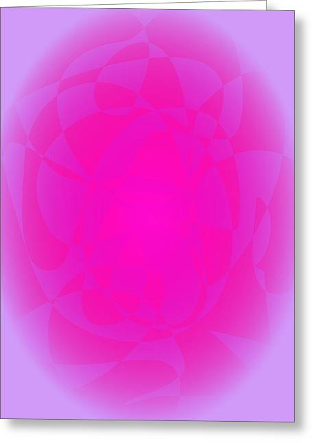 Gradations Digital Art Greeting Cards - Pink Gerbera Greeting Card by Masaaki Kimura