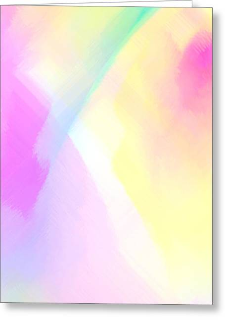 Tablets Greeting Cards - Pink illusion 2 Greeting Card by Rafael Salazar