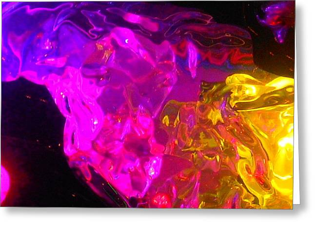 Black Top Greeting Cards - Pink Love No. 2 Greeting Card by James Welch