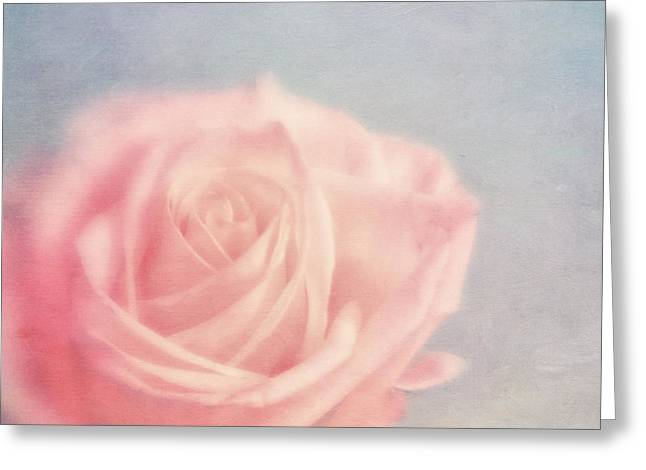 Romantic Floral Greeting Cards - pink moments I Greeting Card by Priska Wettstein