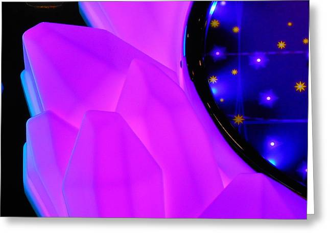 Science Greeting Cards - Pink Window To The Stars Greeting Card by James Welch