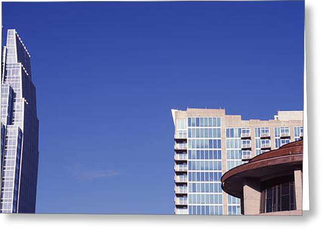 Nashville Greeting Cards - Pinnacle At Symphony Place Building Greeting Card by Panoramic Images