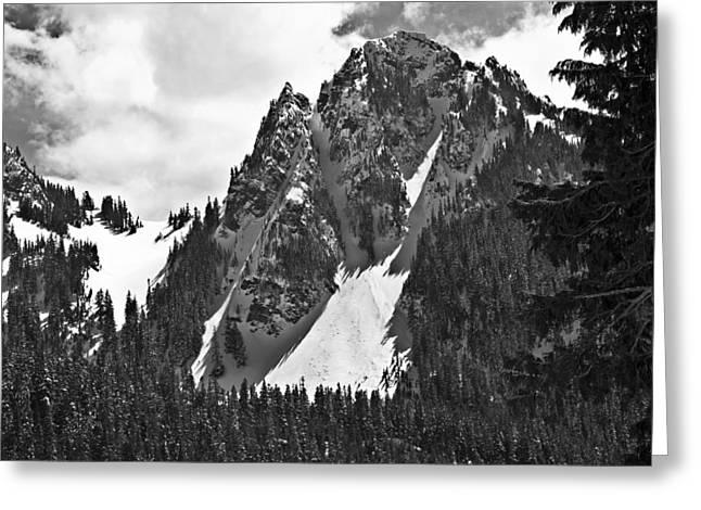 Pinnacle Peak Greeting Card by Gary Silverstein