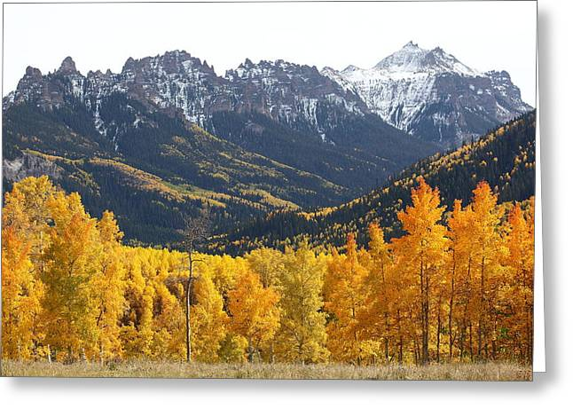 West Fork Greeting Cards - Pinnacle Ridge Greeting Card by Eric Glaser