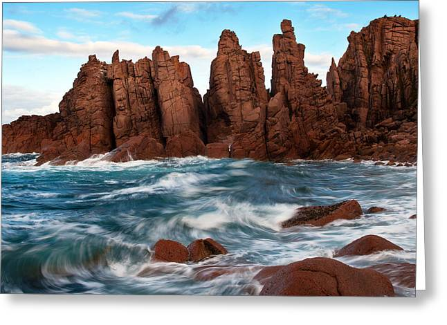 Tim Nichols Greeting Cards - Pinnacle Swell Greeting Card by Tim Nichols