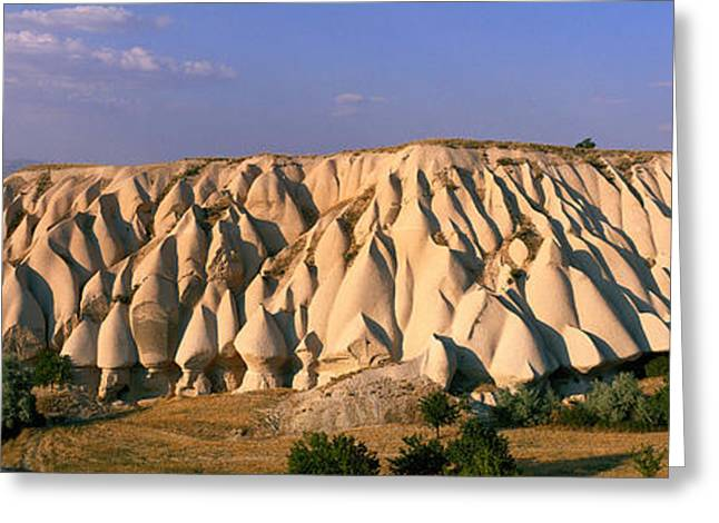 Surrealistic Images Greeting Cards - Pinnacles, Goreme Valley, Cappadocia Greeting Card by Panoramic Images