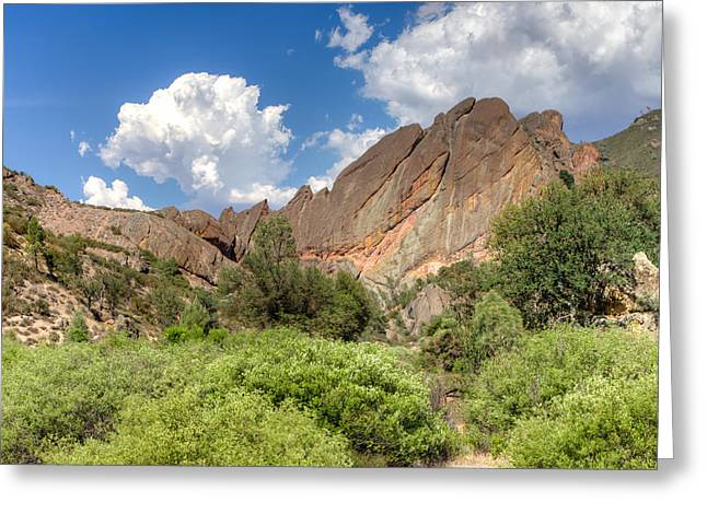 Mountain Valley Greeting Cards - Pinnacles National Park Greeting Card by Ken Wolter