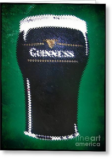 Photography Of Liquor Greeting Cards - Pint Of Beer Greeting Card by Nina Ficur Feenan
