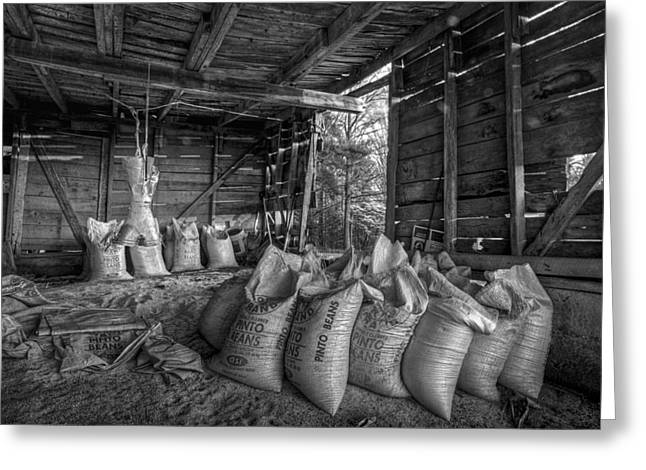 Tennessee Barn Greeting Cards - Pinto Beans Greeting Card by Debra and Dave Vanderlaan