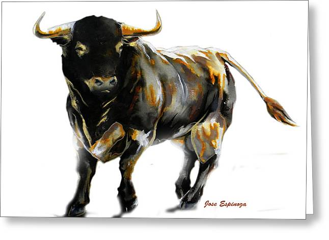 Unique Art Drawings Greeting Cards - Pinto  Greeting Card by Jose Espinoza
