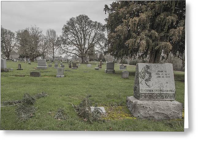 Pioneer Resting Place Greeting Card by Jean Noren