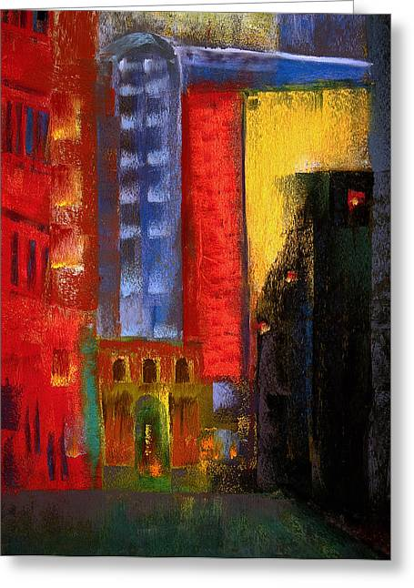 Pioneer Square Alleyway Greeting Card by David Patterson