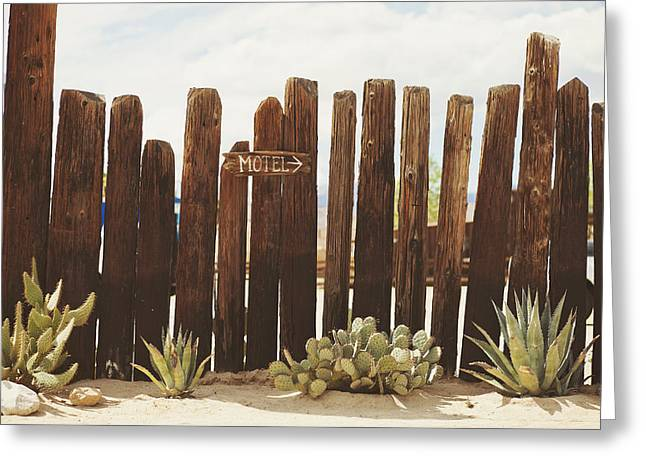 Pioneertown Greeting Cards - Pioneertown Greeting Card by Lisa Kimberly