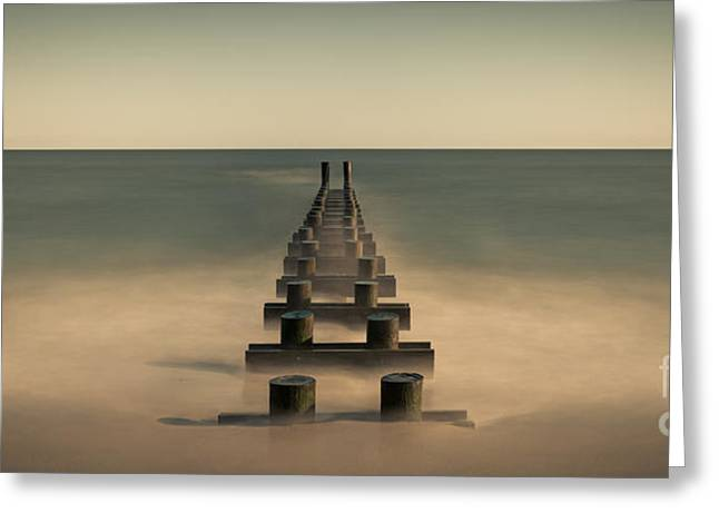 Jerseyshore Greeting Cards - Pipe Dream Greeting Card by Michael Ver Sprill