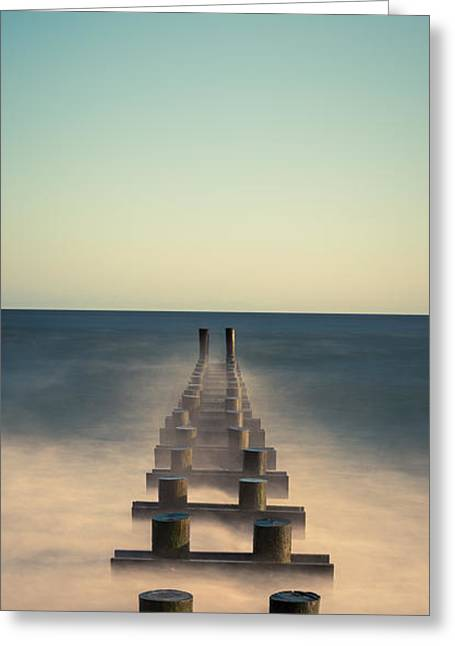 Jerseyshore Greeting Cards - Pipe Dream Retro  Greeting Card by Michael Ver Sprill