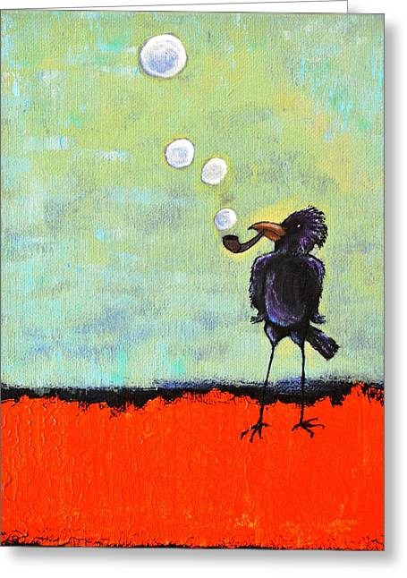 Wishful Thinking Greeting Cards - Pipe Dreams Greeting Card by Lisa Kaye