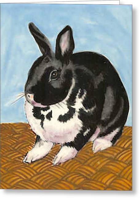 Pet Ceramics Greeting Cards - Pipi Greeting Card by Dy Witt