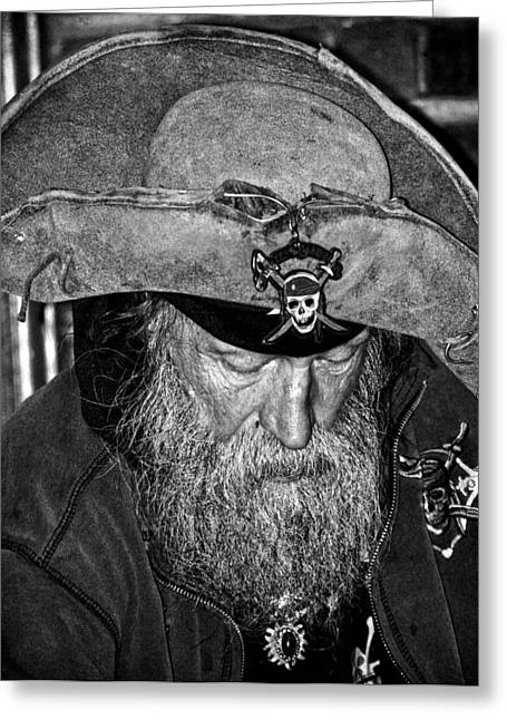 Pirates Greeting Cards - Pirate Dan  Greeting Card by Jerry Cordeiro