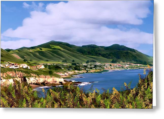 San Luis Obispo Greeting Cards - Pirates Cove Greeting Card by Kurt Van Wagner