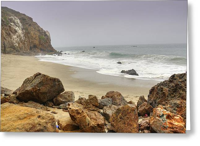 Pacific Ocean Prints Greeting Cards - Pirates Cove Greeting Card by Ricky Barnard
