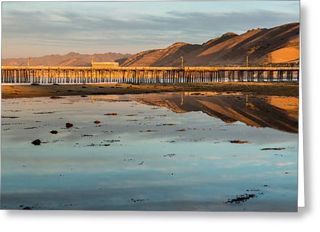 Warm Tones Greeting Cards - Pismo Beach Series 24 Greeting Card by Josh Whalen