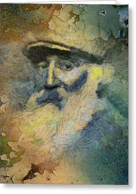 Camille Pissarro Digital Greeting Cards - Pissarro Greeting Card by Carol Sullivan