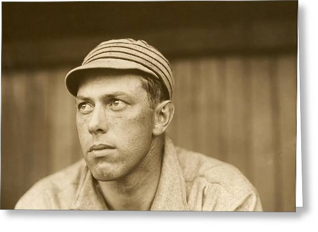 Old Pitcher Greeting Cards - Pitcher Jack Coombs - Philadelphia Athletics 1911 Greeting Card by Mountain Dreams