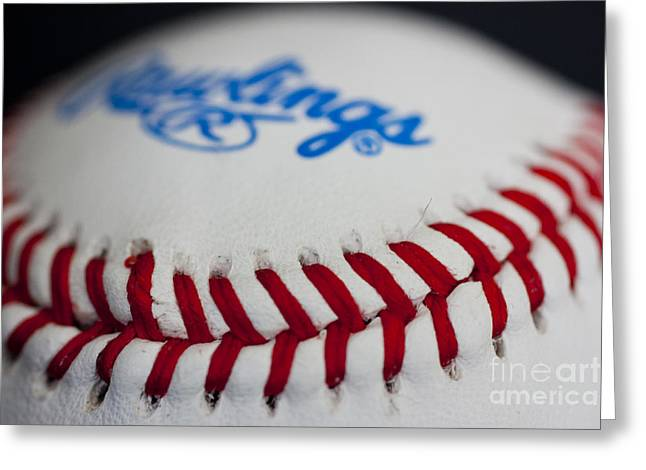 Rawlings Greeting Cards - Pitchers and Catchers in 24 days Greeting Card by David Bearden