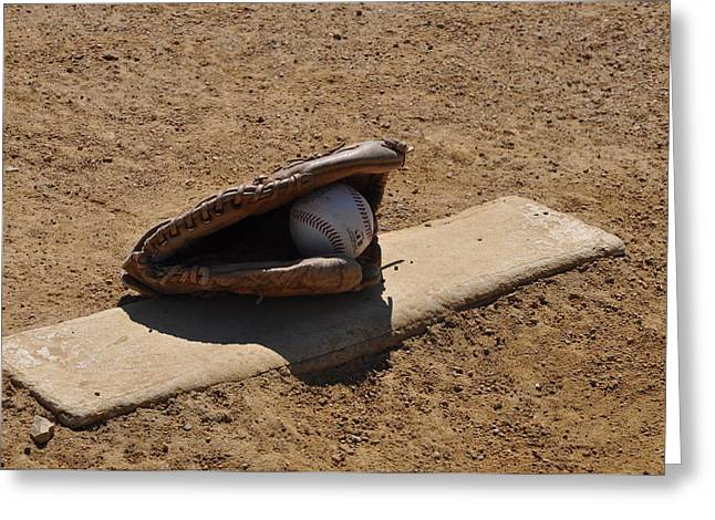 Pitchers Mound Greeting Card by Bill Cannon