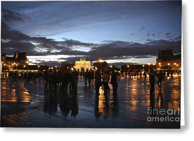 Randi Shenkman Greeting Cards - Place du Carrousel Greeting Card by Randi Shenkman
