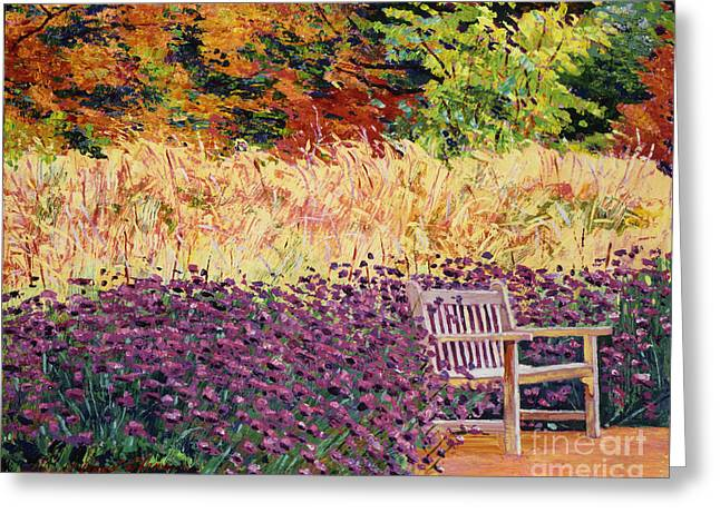 Place Of Solitude Greeting Card by David Lloyd Glover