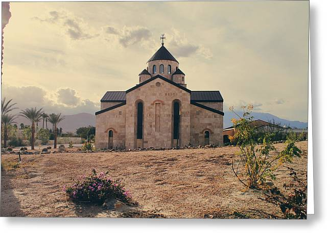 Stone Buildings Greeting Cards - Place of Worship Greeting Card by Laurie Search