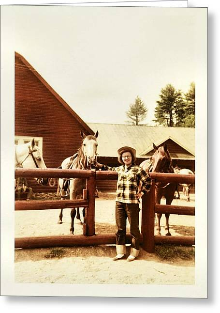 Dude Ranch Greeting Cards - Plaid Joy Greeting Card by JAMART Photography