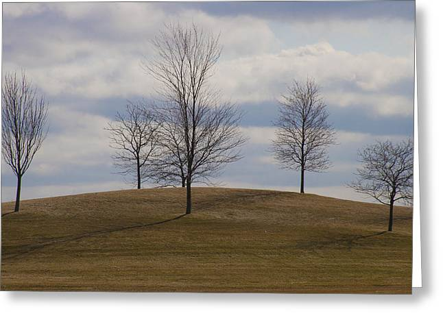 Branch Hill Greeting Cards - Plain and simple Greeting Card by Elvira Butler