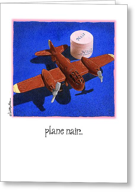 Toy Planes Greeting Cards - Plane Nair... Greeting Card by Will Bullas