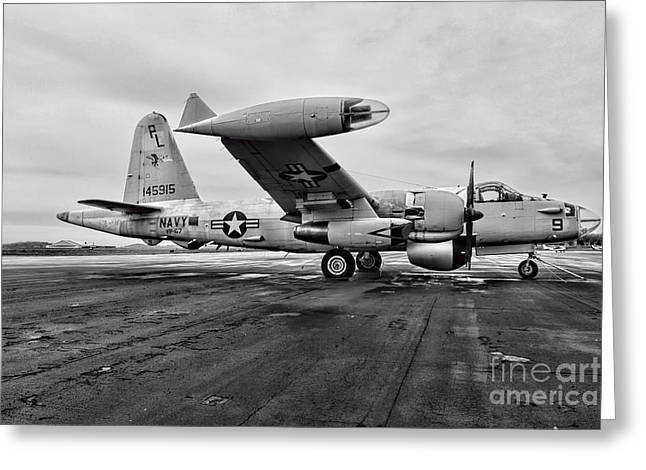 Anti Greeting Cards - Plane - P2V-7 Neptune Aircraft Greeting Card by Paul Ward