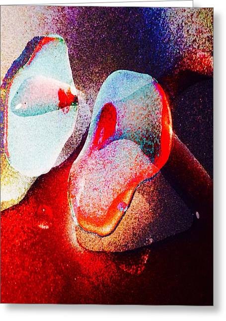 Biological Digital Art Greeting Cards - Plasmatic 1 Greeting Card by Steven Jupiter