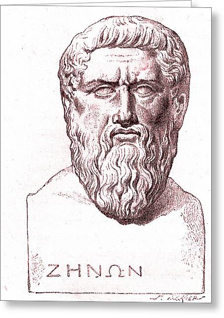 Plato Greeting Card by Collection Abecasis