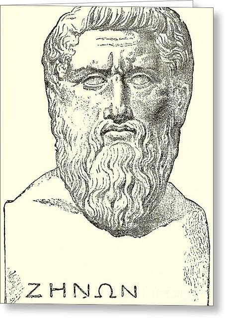Philosopher Greeting Cards - Plato  Greeting Card by English School