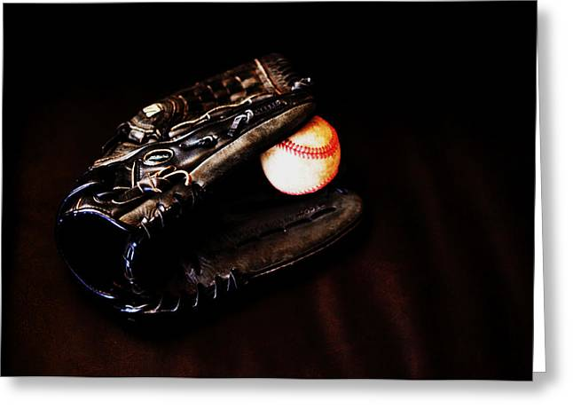 Play Ball Fine Art Photo Greeting Card by Jon Van Gilder