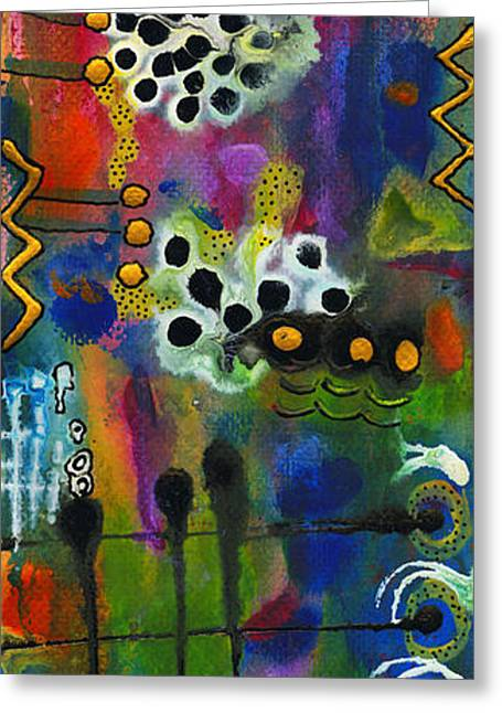 Survivor Art Greeting Cards - Play Date Greeting Card by Angela L Walker