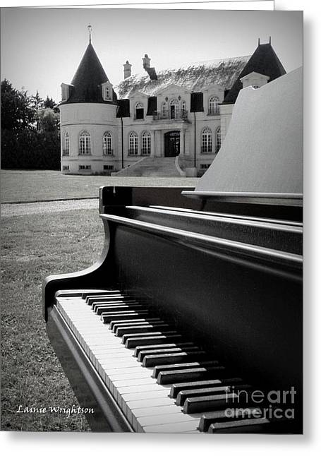Play Me A Tune Greeting Card by Lainie Wrightson